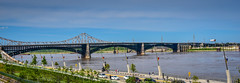 Eads Bridge - St Louis MO (mbell1975) Tags: stlouis missouri unitedstates us eads bridge st louis mo saintlouis saint stl bro brücke puente pont ponte brug bouwwerk most brig köprü bur broen water river mississippi panoramic panorama vista