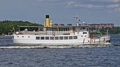 The archipelago boat Riddarfjärden in Stockholm (Franz Airiman) Tags: charter charterbåt charterfartyg charterboat chartership blidösundsbolaget båt boat ship fartyg stockholm saltsjön sweden scandinavia