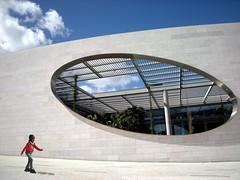 Lisbona - Fondazione Champalimaud (lucy PA) Tags: architettura lisbona architecture fondazione champalimaud