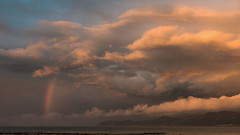 'A Passing Storm' (Kristofer Williams) Tags: cloud cloudscape rainbow storm landscape skyscape mood drama menaistraits anglesey