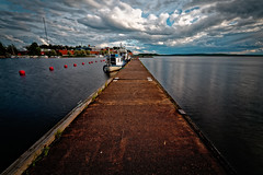 Iisalmi (Tuomo Lindfors) Tags: iisalmi suomi finland satama venesatama marina porovesi järvi lake vesi water laituri pier myiisalmi dxo filmpack
