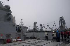 170716-N-BY095-0067 (SurfaceWarriors) Tags: ussshoup ddg86 replenishmentatsea destroyer arleighburkeclass deployment carrierstrikegroup11 desron9 malabar2017 insjyoti bayofbengal