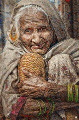 EXPRESION Mosaico (by zurera) Tags: digital hd art collage retratos portraid zurera people fotomontaje image autoretratos mosaic