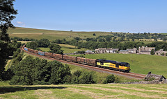 Logs (goremirebob) Tags: trains railways freight timber railfreight colas class60 tug settlecarlisle smardale yorkshiredales