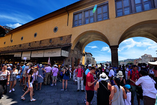 Ponte Vecchio Bridge Firenze - Italia.