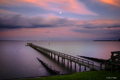 Chesapeake Bay Moonrise at Fairhaven, MD (1) (nhojuonah) Tags: moonrise moonset chesapeake bay fairhaven md