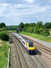 222 016 on the 14.05 Nottingham-St. Pancras at Sharbrook (johncheckley) Tags: d90 passengertrain meridian