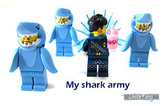 My shark army (WhiteFang (Eurobricks)) Tags: lego collectable minifigures series city town space castle medieval ancient god myth minifig distribution ninja history cmfs sports hobby medical animal pet occupation costume pirates maiden batman licensed dance disco service food hospital child children knights battle farm hero paris sparta historic ninjago movie sensei japan japanese cartoon 20 blockbuster cinema