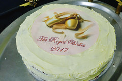 Piece of cake: The Royal Ballet's Taglioni Cake cutting ceremony
