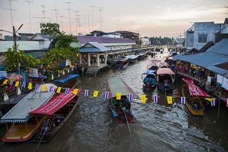 marché flottant amphawa - thailande 15