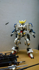 LEGO Gundam Barbatos ASW-G-08 1/60 (demon14082001) Tags: lego gundam barbatos frame iron blooded orphans asw 08th tekkadan technic bionicle hero factory brick robot mecha toy figure