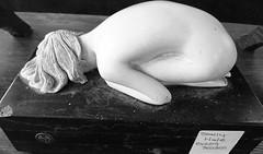 Kneeling III (Snowbaby67) Tags: missmollys tearoom vintage resale redruth cornwall statue