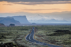 The Open Road (East Western) Tags: kirkjubæjarklaustur iceland road one open endless possibilities american west sunrise