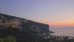 Vico Equense (Dajathwi) Tags: italy coast sunset blue hour landscape ocean oceanscape sky beautiful dajathwi canon 6d sigma hdr pure