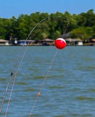 Ordering Take-out (gendarme02) Tags: camping nikon water line livingston 2015 lake blue red float sun summer rod texas d7100 tackle fish boating august sky fishing waterlake outside outdoor nikond7100