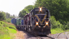 907 leaving Saint John (MaineTrainChaser) Tags: 72017 nbsr nb trains train 907 west westbound mcadam subdivision