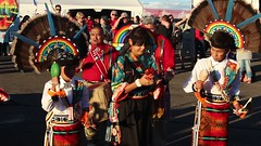 The Acoma Indian performers at the Albuquerque Balloon Fiesta (Hazboy) Tags: acoma indians abq albuquerque new mexico balloon fiesta festival october 2016 hazboy hazboy1 us usa america
