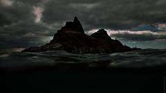 The Lost World (LoneSwimmer) Tags: waterford coppercoast ocean reef island atlantic loneswimmer oyen tramore greatnewtownhead ronansbay