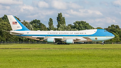 USAF United Air Force One 92-9000 pmb19-5168 (andreas_muhl) Tags: 29000 747200 929000 airforceone boeing boeing7472g4bvc25a eddh g20 g20gipfelhamburg ham hamburg trump usaf unitedstatesairforce vip aircraft airplane planespotter planespotting