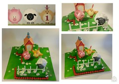 Farm cake made to match the invite by Creative cake Art 25029040 (2) (www.creativecakeart.com.au) Tags: farm first birthday cake made match invite childrens kids cakes melbourne novelty creative art edible design likeforlike brunswick sculpture party celebration creativecakeart custom amazing designer artistic melboune bespoke character by
