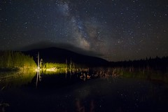 The Milky Way at mont Gosford, Quebec (sherbypictures) Tags: canada quebec estrie mont gosford woburn notredamedesbois megantic night sky ciel étoilé voie lactée