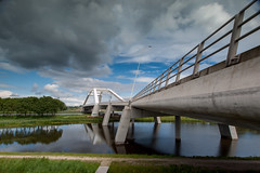 Uyllanderbrug (Martijn_68) Tags: uyllanderbrug brug 918mm ijburg wolken architecture bridge