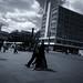 Alexanderplatz (V-A-B) Tags: berlin alexanderplatz balckandwhite street fujixt20