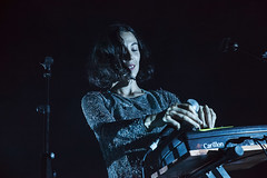 Kelly Lee Owens @ O2 Academy 3 (preynolds) Tags: concert gig livemusic dof canon5dmarkii mark2 raw tamron2470mm frontwomen singer singing stage stagelights soloartist pop music musician noflash counteractmagazine