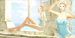 Divinity's Bath (Anabigail) Tags: yokai una mushilu secretaffair tableauvivant sl blogger event
