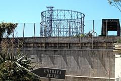 Antico Gasometro di Roma (anna_arq) Tags: gasometro gas heritage patrimonio patrimoine industrry industrialheritage histoiredestechniques industriallandscape