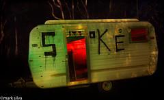 I've got my hash pipe (mark silva) Tags: kuringgaiutscampus light paintingpainting with torch flashlight lumecube sydney nsw australia