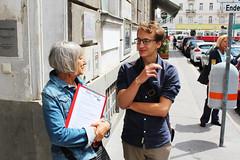 Unterstützungserklärungen Leopoldstadt 10 (KPÖ PLUS) Tags: 2017 nationalratswahl kpöplus kpö politik aktion wien leopoldstadt unterstützungserklärungen