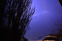 DSC_7600 (georgerocheleau) Tags: mesa arizona storm clouds rain lightning therebeastormabrewin