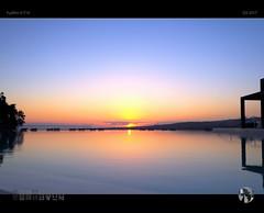 Infinity & Beyond (tomraven) Tags: sunset pool infinitypool grancanaria canaryislands islands reflection water sun clouds sky tomraven aravenimage q32017 fujifilm xt10