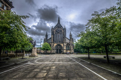 (Glen Parry Photography) Tags: cathedral glasgow glasgowcathedral scotland uk nikon d7000 sigma sigma1020mm relegion trees sky clouds