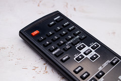 Remote control  (Fernbedienung) (wuestenigel) Tags: keypad electronic media vector device television object tv home control button background icon technology modern digital program power controller infrared remote video electrical equipment black communication isolated entertainment channel white