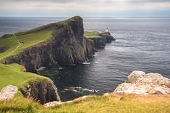 Neist Point (Paul C Stokes) Tags: neist point lighthouse neistpoint isle skye landscape overcast windy scotland highlands sony a7r zeiss 1635 lee grad polariser polarizer