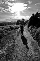 Nuclear Girl (Ashley Beavan) Tags: nuclear bomb downs sussex country path bush uk england