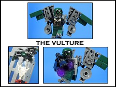 The Vulture (MrKjito) Tags: lego minifig super hero comic comics marvel cinematic universe spiderman homecoming vulture villain custom pack