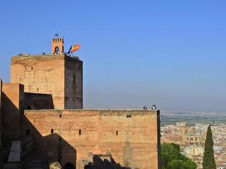 La Alhambra, La Alcazaba.