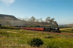 Perfect light (Matt.Evans44871) Tags: 8f 48151 wcrc dalesman ais gill armathwaite steam tour train
