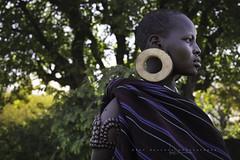 Young mursi woman. Mago national park. Omo Valley, Ethiopia. (Raúl Barrero fotografía) Tags: mursi tribe tribu woman ethiopia áfrica girl portrait etiopía africa scarification escarificación dilatación dilatation