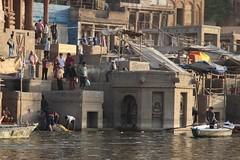 Varanasi, Death on the River Ganges (Heaven`s Gate (John)) Tags: ghat varanasi india johndalkin heavensgatejohn death river ganges steps manikarnikaghat manikarnika cremation religion hindu
