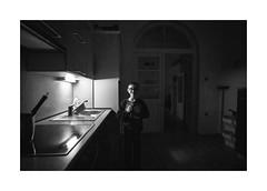 Harry Potter (Jan Dobrovsky) Tags: 21mm biogon krásnálípa leicam10 northernbohemia document people reallife social boy kids monochrome blackandwhite home childrens portrait indoor evening dark