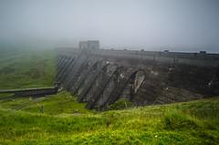Dam Mist (daedmike) Tags: scotland dam killin lawers mist rain clouds fog haze hydrodam lochannalairge