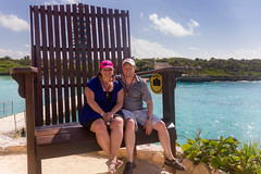 In the Big Chair (Jerry Bowley) Tags: rivieramaya xelha chair me ecopark lisa jerry allinclusive