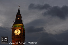 Evening meets Big Ben (newphotographyuk) Tags: photography bigben london city nightime architecturephotography clock cloudy evening arty