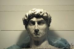 David_ (drewniane drewno) Tags: drewartmichalec rzeźbawdrewnie rzeźba w glinie clay sculpting david czechowicedziedzice