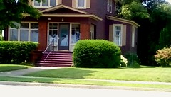 Beautiful older home - SFS (Maenette1) Tags: older home firststreet stairs sunshine menominee uppermichigan saturdayforstairs flicker365