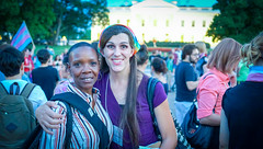 2017.07.26 Protest Trans Military Ban, White House, Washington DC USA 7687